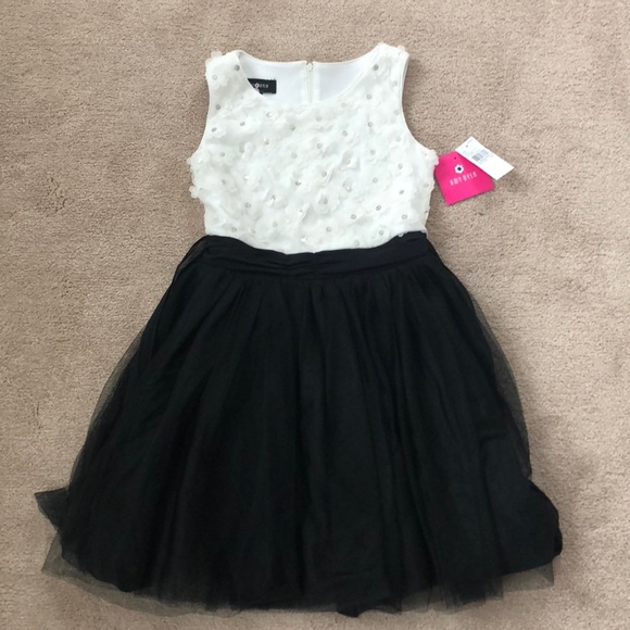 Amy Byer Dresses Girls Size 12 Black And White Party Dress Poshmark